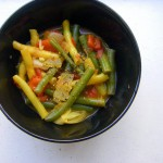 August 31, 2010: Green Bean Curry