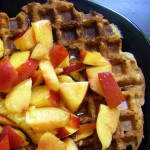 Waffles, Beets and Bulgar
