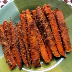 Pecan Crusted Sweet Potato Fries