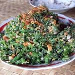 Balinese Fern Salad Video in Bali