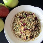 Raw Buckwheat Granola, the 101st post!