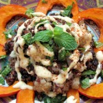 Quinoa Pilaf with Spiced Miso Tahini Sauce