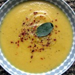 Silky Butternut Squash & Cauliflower Soup