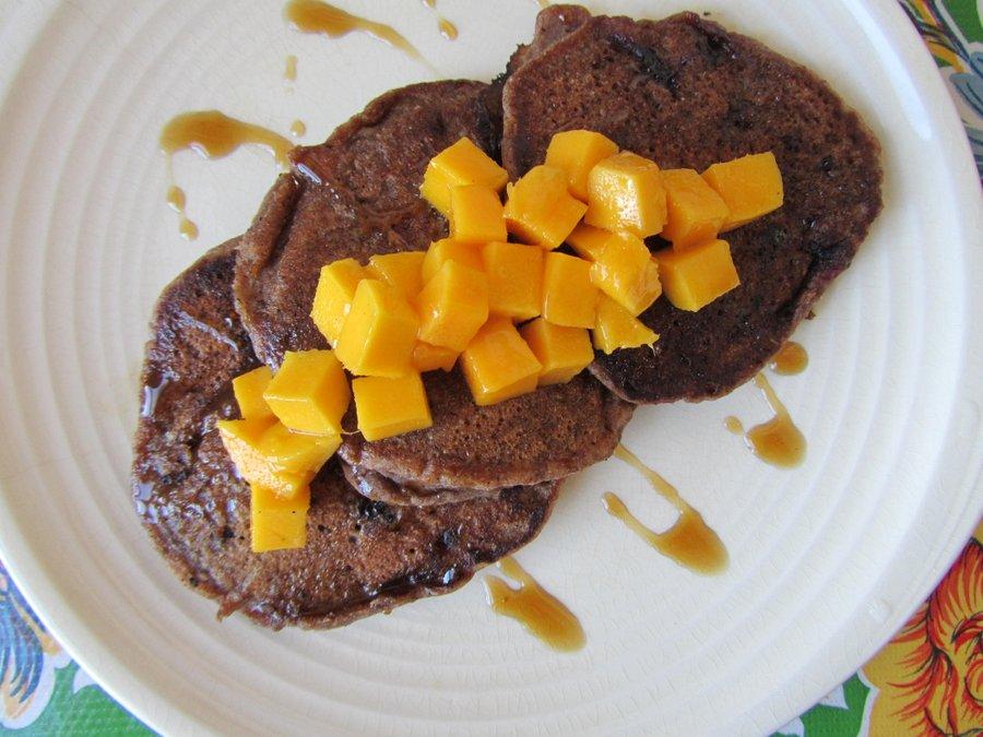 Vegan Gluten Free Teff Pancakes