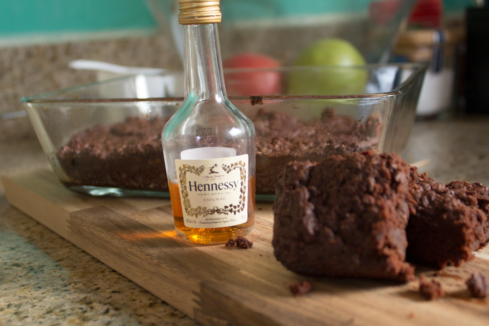 Boozy Brownies Vegan Big Pimpin'