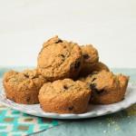 Gluten-free Blueberry Ginger Muffins