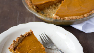 How to make a vegan Sweet Potato Pie… {VIDEO}