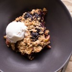 Cherry-Rhubarb Crumble {Video}