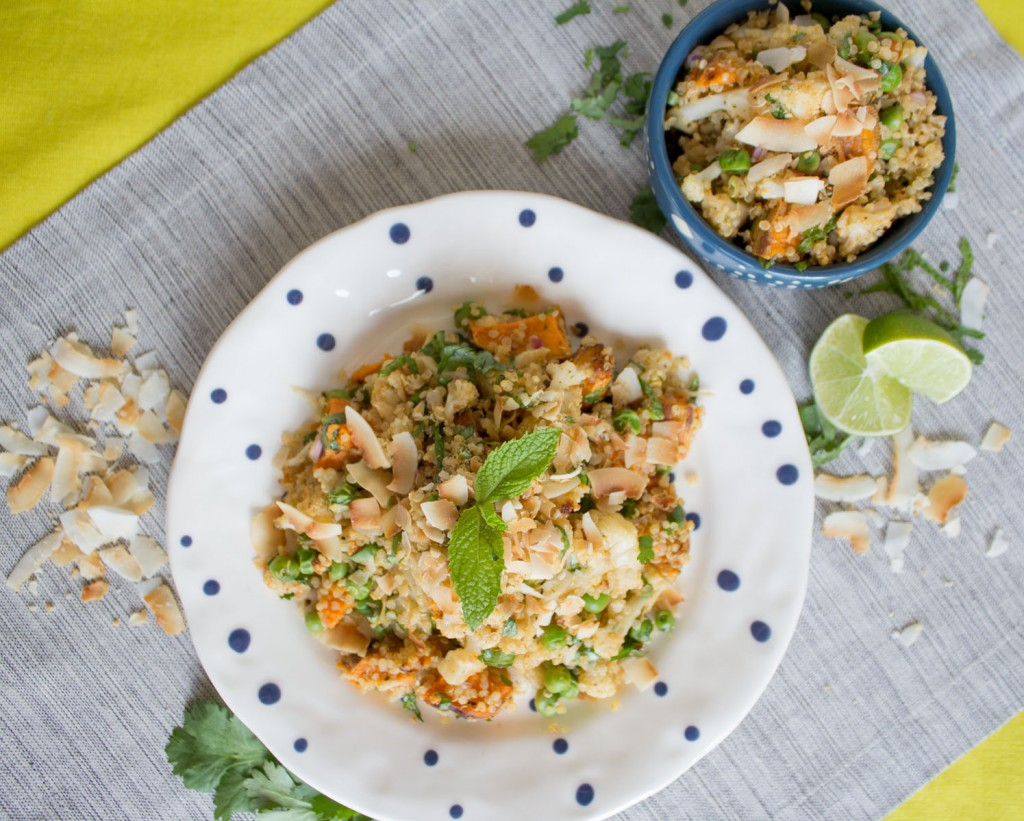 Cauliflower Samosa Salad