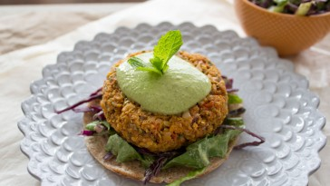 Sweet Potato Burger Vegan Glutenfree