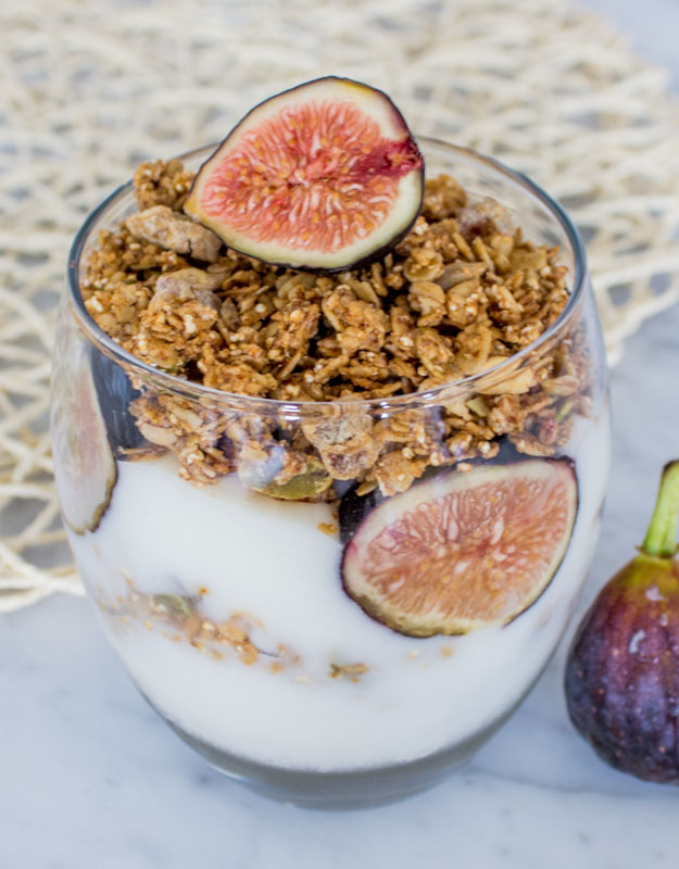 Fig Granola Parfait