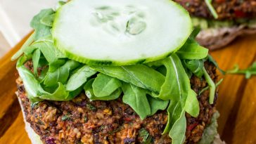 Black Bean Hemp Burgers {Video}