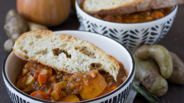 Vegan Vegetable Bean Soup Vegan Zuppa Fagioli