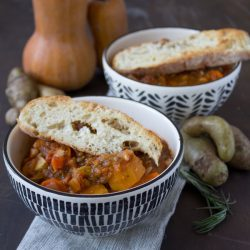 Autumn Zuppa di Fagioli (Bean Soup)