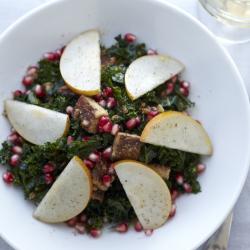 Smokey Tempeh + Kale Salad