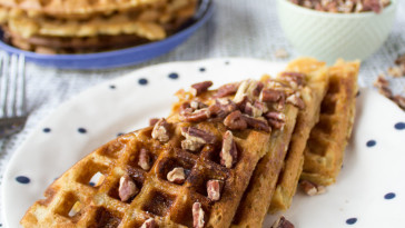 buttermilk vegan waffles