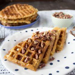 Vegan Buttermilk Waffles {VIDEO}