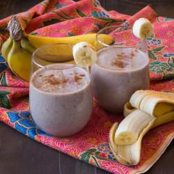 Banana Cardamom Smoothie