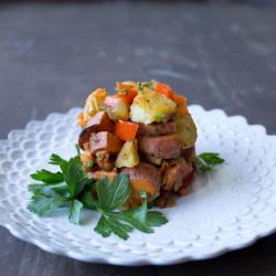 Sweet Potato Hash {VIDEO}