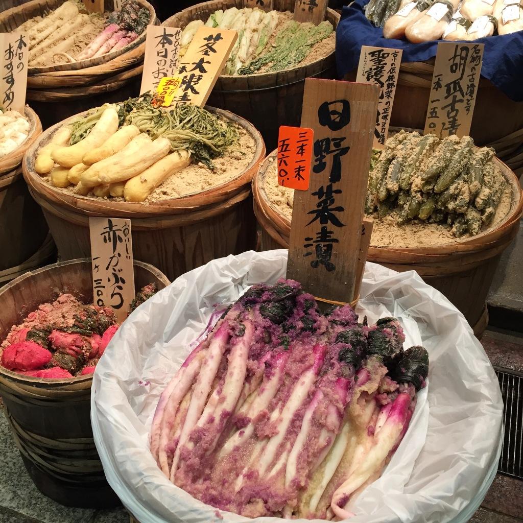 Pickles in Nishiki Market
