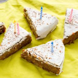 BIRTHDAY POST + Sweet Potato Cake!!!