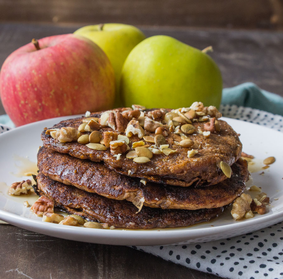 Apple Spice Pancakes