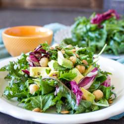 Herbes de Provence Salad Dressing + Perfect Salad {VIDEO}