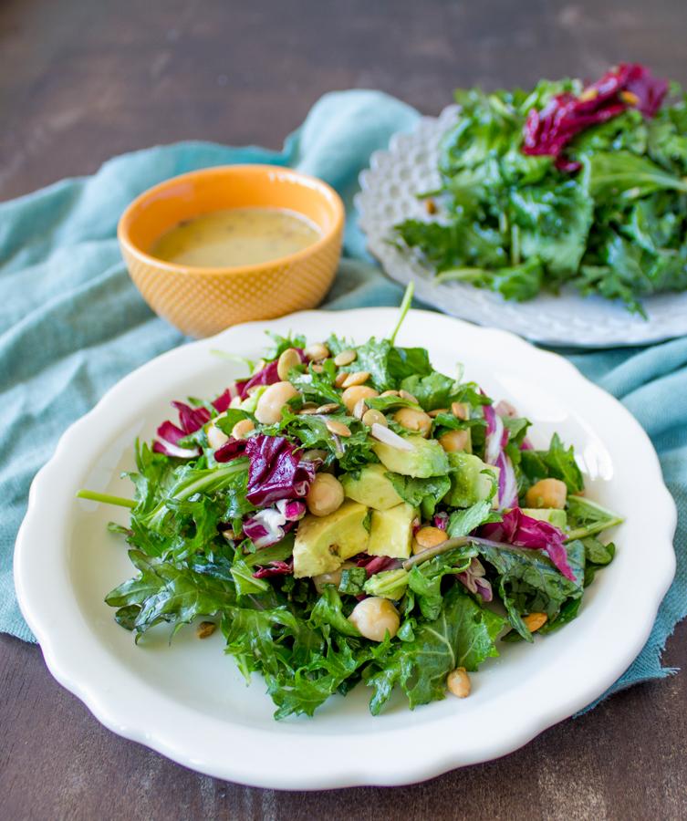 Herbes De Provence Salad & Salad Dressing