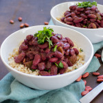 New Orleans Style Red Beans & Rice {VIDEO}