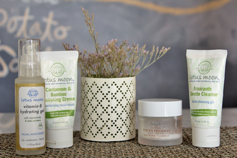 Lotus Moon Skincare Products