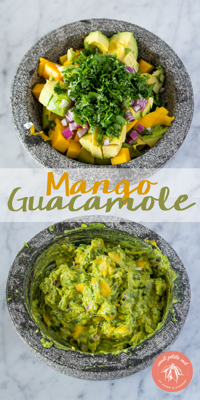 Mango Guacamole for Lentil Tacos