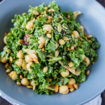 Kimchi Kale Salad + Favorite Podcasts