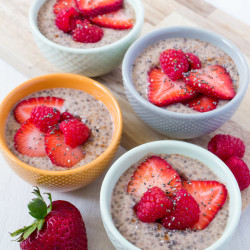 Very Berry Chia Pudding + Book Giveaway