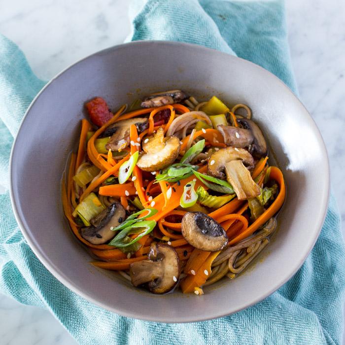 Ponzu Soba Noodles