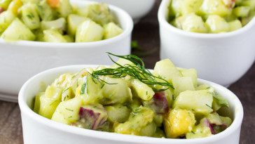 Refreshing Cucumber & Avocado Salad