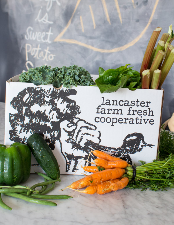Fresh Direct CSA Box #FDCSA