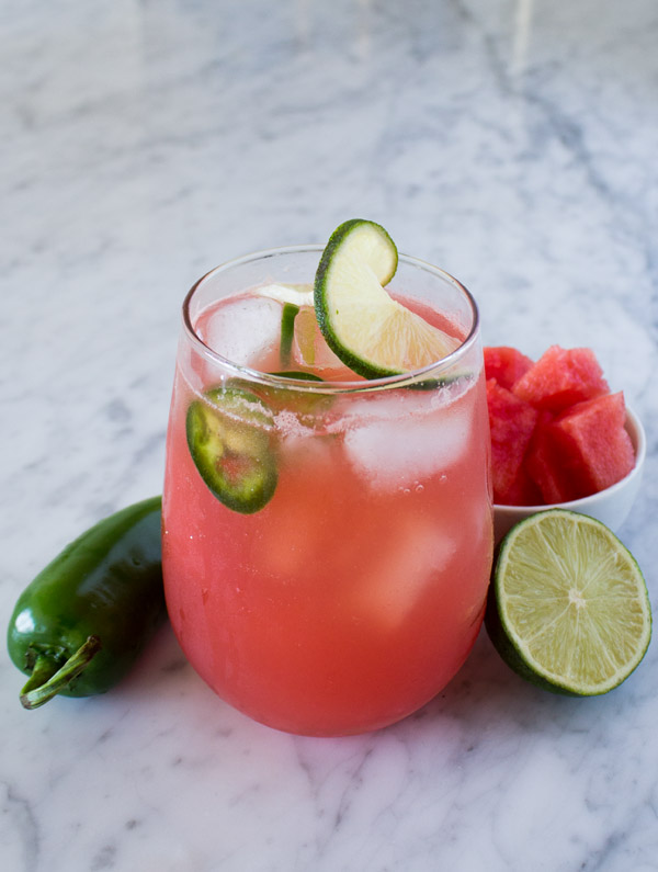 Mezcal Watermelon Margarita