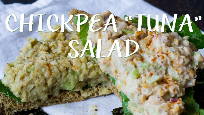 Chickpea Tuna Salad Video