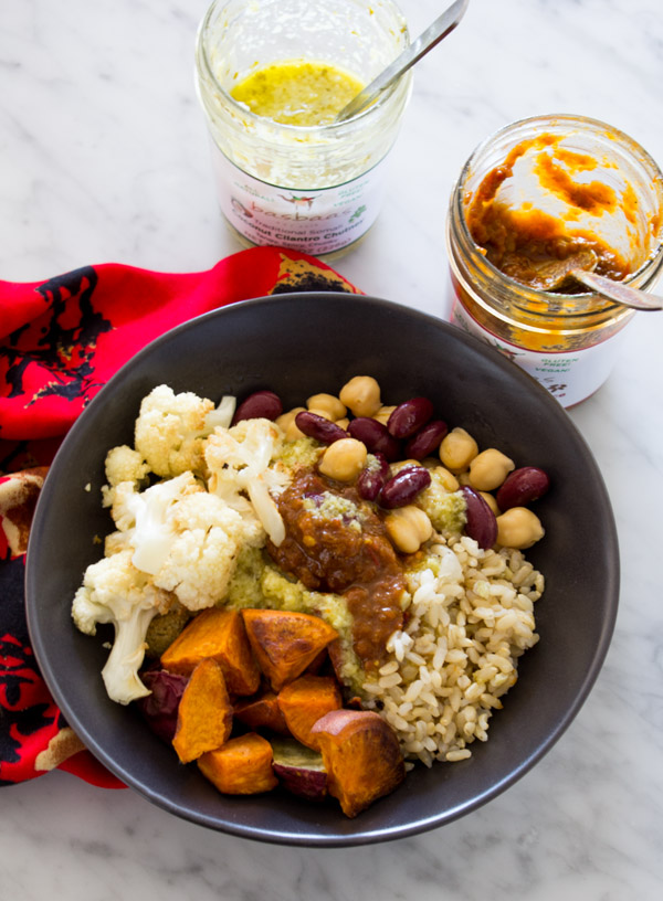 Vegan Basbaas Buddha Bowl (recipe + video) | www.sweetpotatosoul.com