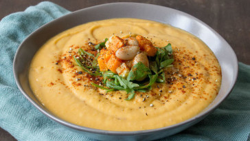 Sweet Potato Parsnip Bisque