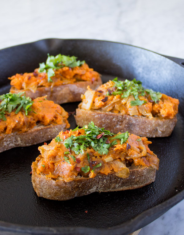 Sweet Potato Crostini | Sweet Potato Soul