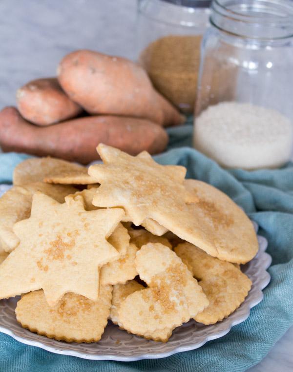 Sweet Potato Sugar Cookies   www.sweetpotatosoul.com