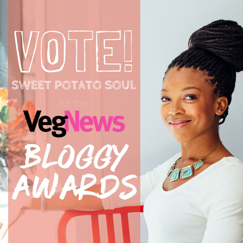 VegNews Sweet Potato Soul Vote