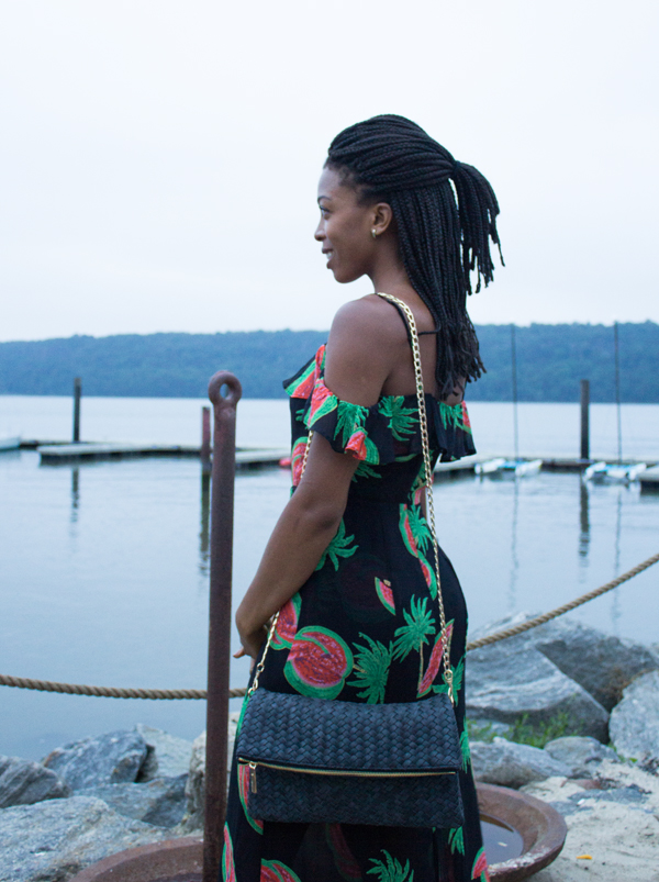 Deux Lux Madison Fold Black Vegan Bags Video| www.sweetpotatosoul