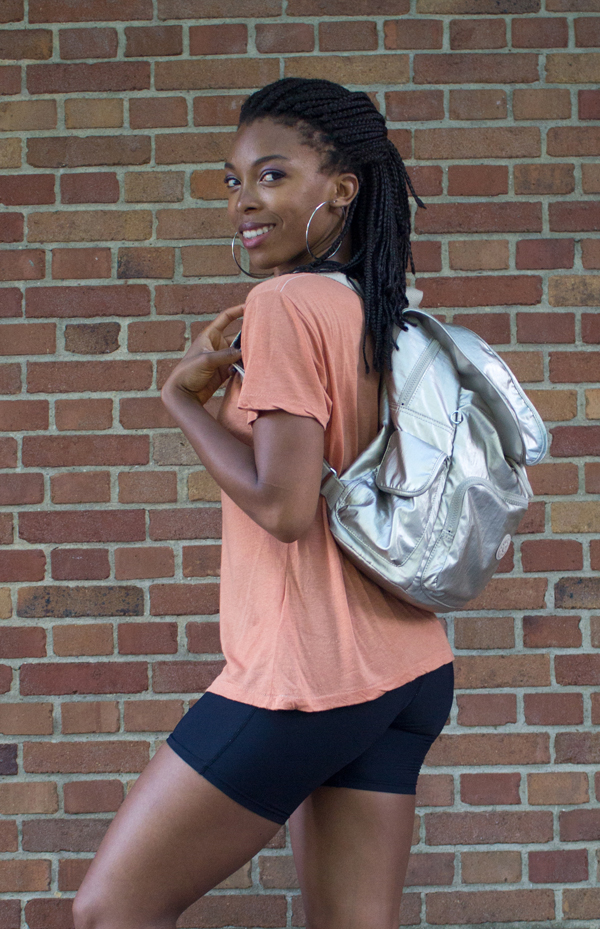Kipling Ravier Gleaming Gold Vegan Backpack Video| www.sweetpotatosoul