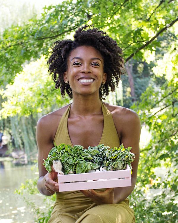 Jenné Claiborne Monticello Herbs | sweetpotatosoul.com