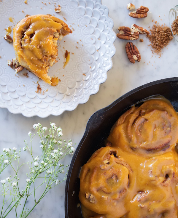 vegan sweet potato cinnamon rolls | sweetpotatosoul.com
