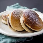Vegan Dorayaki Japanese Pancakes with Red Bean Filling {VIDEO}
