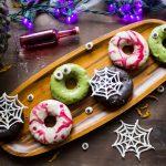 Halloween Sweet Potato Donuts {VIDEO}