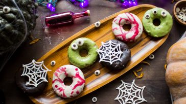Halloween Sweet Potato Donuts {VIDEO}